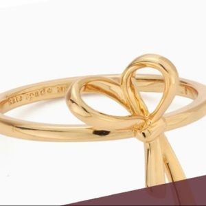 Kate Spade All Tied Up Gold Ring